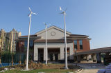 400W de la turbina eólica y el sistema híbrido de panel PV (100W-20kw).