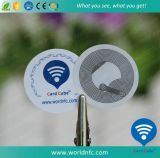 Ntag213 ISO14443A encargo baratos RFID etiqueta engomada de papel NFC