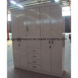 Carton de mélamine de meubles de chambre à coucher/cabinet de garde-robe panneau de particules