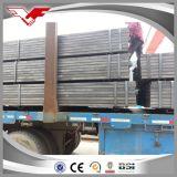 Квадратной труба раздела гальванизированная формой стальная