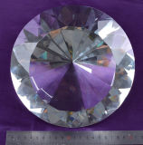 diamante di cristallo del diametro di 200mm 20cm grande per Docoration