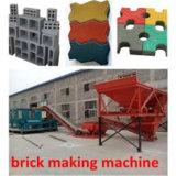 Machine de découpage automatique de brique de la presse Qt4-15 hydraulique (mignonne)