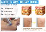 Máquina da terapia da onda acústica da inquietação da onda do ultra-som