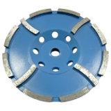Альтернативного сегмента Двухрядным чашка шлифовального круга