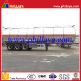 45000liters de Semi Aanhangwagen van de Tanker van het Aluminium van de eetbare Olie met 3 Assen