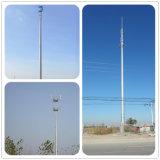 De gegalvaniseerde Toren van de Telecommunicatie van Pool van het Staal