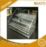 Présentoir acrylique fait sur commande de lentilles de contact