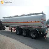 Nuevo acoplado del carro del tanque del petrolero del combustible de petróleo de 3 neumáticos del árbol 12