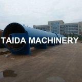 La vulcanización de vapor máquina autoclave horizontal de la manguera de goma