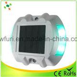 El aluminio marcador carretera Solar LED parpadeando para la Seguridad Vial