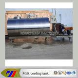 Tanque de refrigeração com leite de vaca Processo de resfriamento de leite