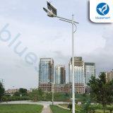 alta lámpara al aire libre solar ligera de la calle LED del brillo 30W