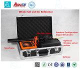 구멍 검출기를 지도로 나타내는 Admt-30K 0-30m 휴대용 이동 전화 3D/2D