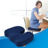 Zippered подушка сиденья автомобиля пены памяти комфорта копчика крышки протезная