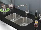 ステンレス鋼の台所の流し、CSAの証明の台紙の倍ボールの台所の流しの下のステンレス鋼