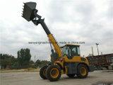 China cargadora frontal telescópicas maquinaria de construcción para la venta