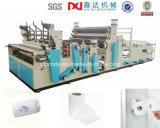 Equipo de la máquina de la producción del papel de toalla de cocina que raja el rebobinar y que graba