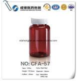 De plastic Duidelijke AmberFles van het Huisdier/Flessen van de Geneeskunde van het Huisdier de Farmaceutische Amber Plastic