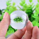 30mm 40mm tamaño pequeño cristal Bola de cristal de la esfera