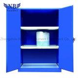 Los productos químicos industriales débil líquido corrosivo del Gabinete de Seguridad con azul