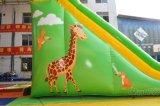 Giraffe-aufblasbares Plättchen/riesige aufblasbare trocknen Plättchen Chsl621