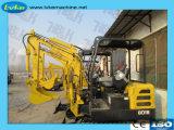 1800kg petites mini-excavateur de haute qualité
