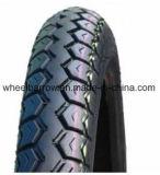 Motorrad zerteilt vollständiger Verkaufs-haltbaren schwarzen Motorrad-Reifen 2.75-18