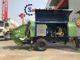 Shotcrete – Shotcrete ist der Prozess des Pumpens des nassen Betons hinunter einen Schlauch, um ihn an einer Oberfläche anzuwenden. an der shotcrete-Düse wird Luft hinzugefügt