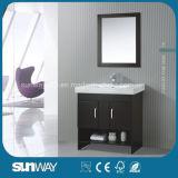 Классицистической самомоднейшей мебель ванной комнаты типа используемая гостиницой в твердой древесине