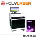 Dom Crystal máquina de gravação a laser 3D