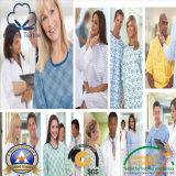 高品質の忍耐強いガウンまたは看護婦のユニフォームか博士Scrub Fabric