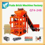 La machine de matériau de construction, bloc semi automatique font la machine pour des affaires
