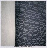Couro de PVC impresso de moda para Lady Bag, bolsa