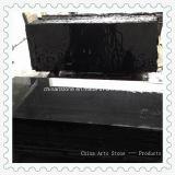 Plak van het Graniet van China de Absolute Zwarte voor Countertop Kitchten en Tegel