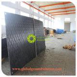 De plástico de polietileno esteras de tracción de tierra/HDPE construcción carretera Mat/vía precio de fábrica Mat