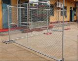 Rete fissa provvisoria di collegamento Chain della costruzione degli S.U.A. 6ftx12FT/recinzione provvisoria