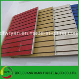 Rosa de color diferentes Magic frente melamina MDF ranura