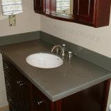 Controsoffitto commerciale di superficie solido della pietra della stanza da bagno
