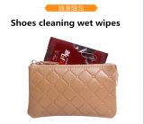 Ботинки очищая Wipe кожаный чистки влажный 1 часть