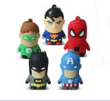 Superman Бэтмен Spiderman USB