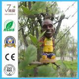 Знаменитые Polyresin лицо кукла, смола баскетбол игрок Ткань из чесаного головки блока цилиндров
