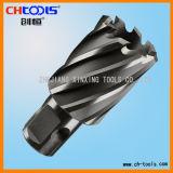 25 mm de profondeur de coupe de queue de fixation universelle HSS coupeuse de base