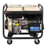 Электрическая безопасность с водяным охлаждением воздуха дизельный генератор 5 квт)