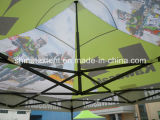 販売のための屋外のおおいのテントを折る習慣によって印刷される展示会