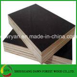 4*8高品質は12mm銘柄の黒い/Brownのフィルムの表面合板を防水する