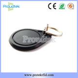 125kHz RFID IDはEm4200長距離Keyfobのカードを訪問する無接触のABSプラスチックを梳く