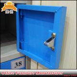 파란 금속 내각 이동할 수 있는 셀룰라 전화 충전소 로커