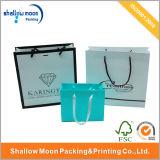 Conception Jewelry Gift Paper Bag avec Logo (QYZ095)