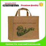 Экологичный джута переработанных женская сумка для покупок