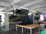 Textilmaschinen-geöffnetes Breiten-Verdichtungsgerät für das Baumwollgewebe, das Prozess vorkrimpt